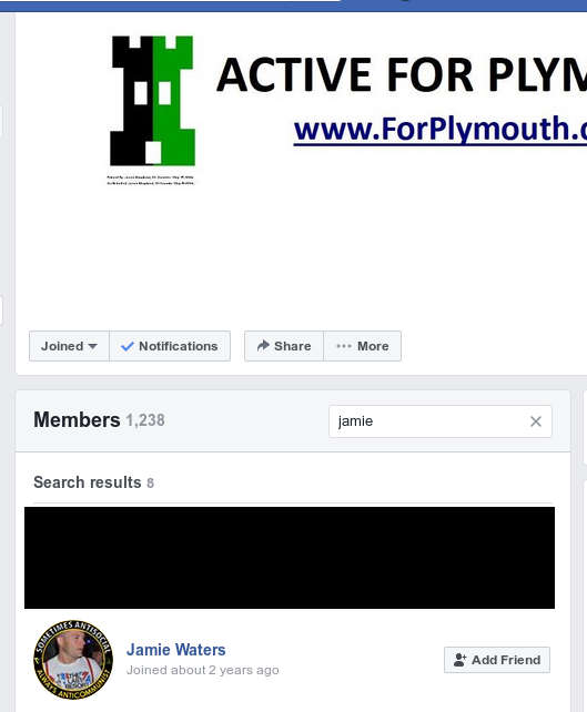 2dad6af8f33a1 Jamie Waters is on Shopland s friends a list and is a member of the Active  For Plymouth facebook group too